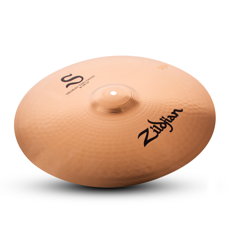 "Zildjian Cymbals | 16"" S Medium Thin Crash"